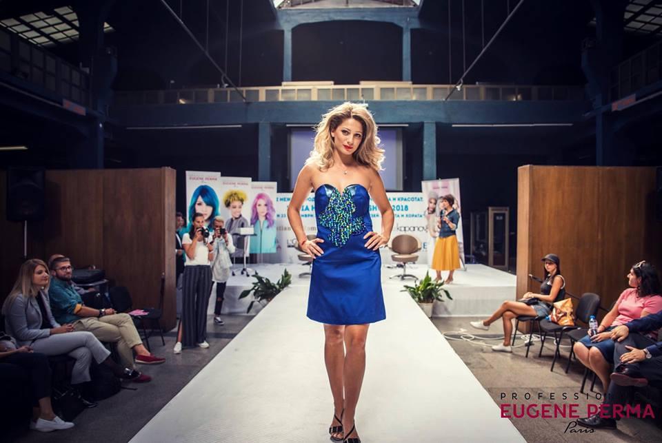 Красавица от Добрич бе избрана за модел на Международен фестивал на прическата