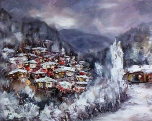 """""""Пазачът на зимното вдъхновение"""", Георги Петров"""